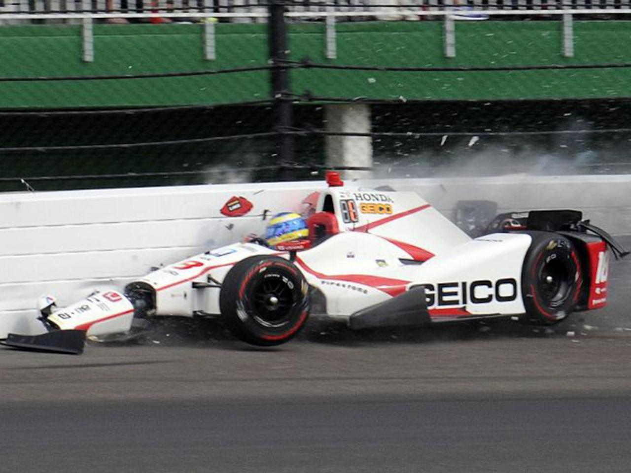 Sebastien Bourdais crash: Ex-F1 driver suffers fractured pelvis and hip in Indy 500 qualifying accident