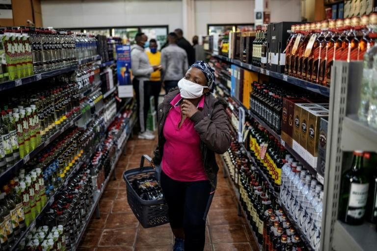 The alcohol ban has ended in South Africa but customers still cannot buy cigarettes