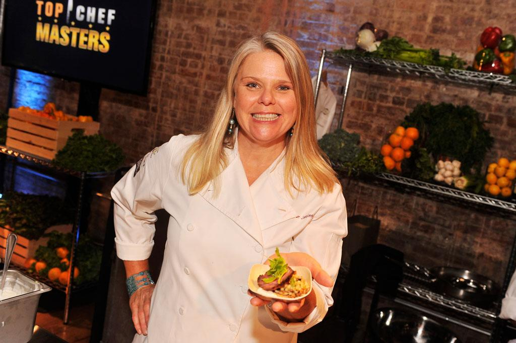 "Jennifer Jasinski attends the ""Top Chef Masters"" Season 5 Premiere Tasting Event presented by Chase Sapphire Preferred at 82 Mercer on Tuesday, July 16, 2013 in New York."