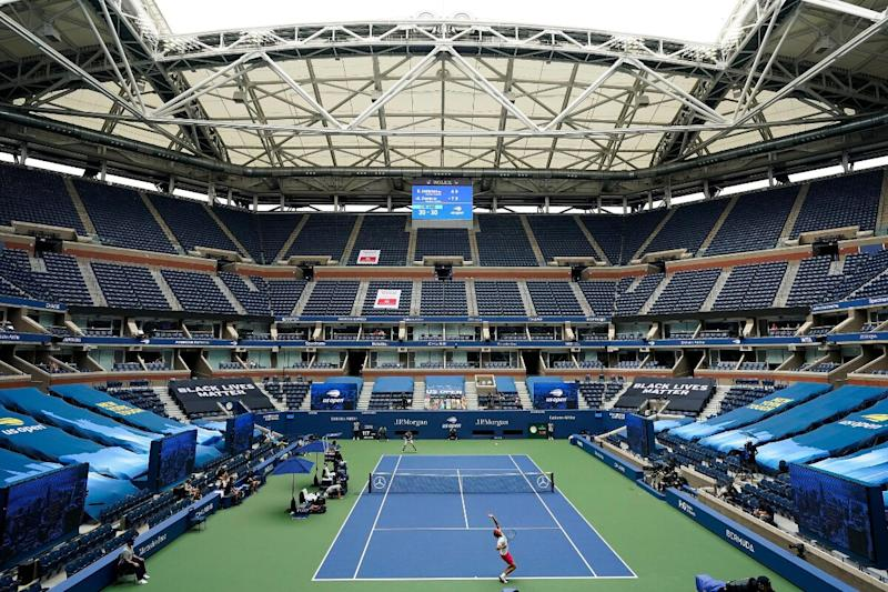 US Open Played Amid Sound of Silence, Players Play Without Usual Glamour
