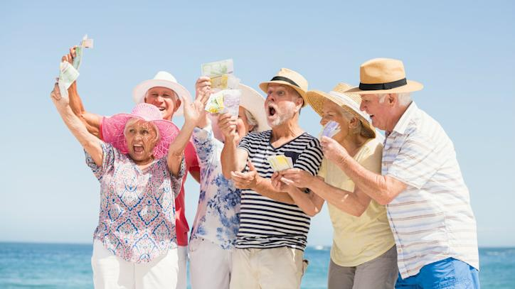 long term growth, money, excited, seniors
