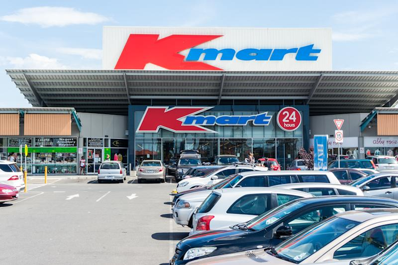 Kmart store in Burwood in suburban Melbourne