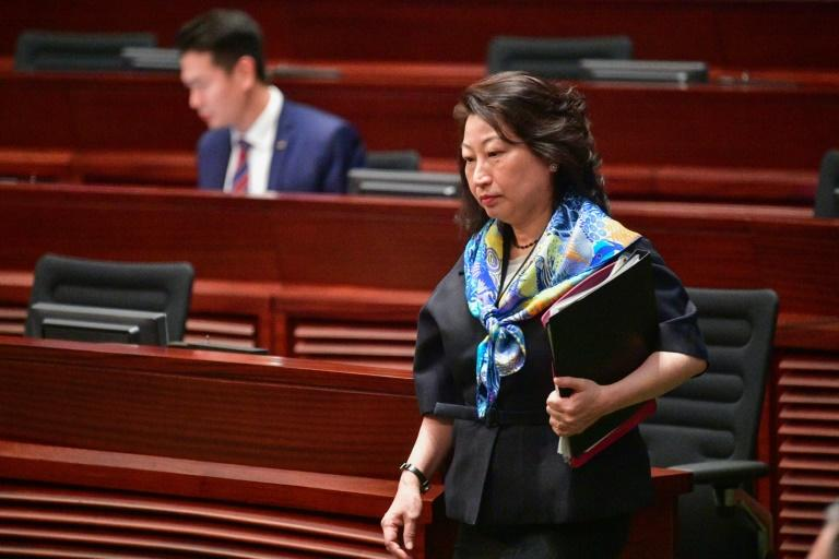 Cheng's department is in charge of prosecuting protesters who have filled city streets for months