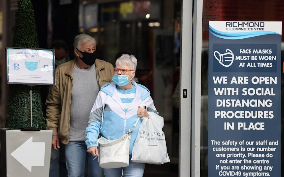 The Stormont Executive announced a wide-ranging series of restrictions for the Derry City and Strabane Council area on Thursday in an effort to stem the spiralling Covid-19 infection numbers in the north-west of Northern Ireland. - PA/Liam McBurney