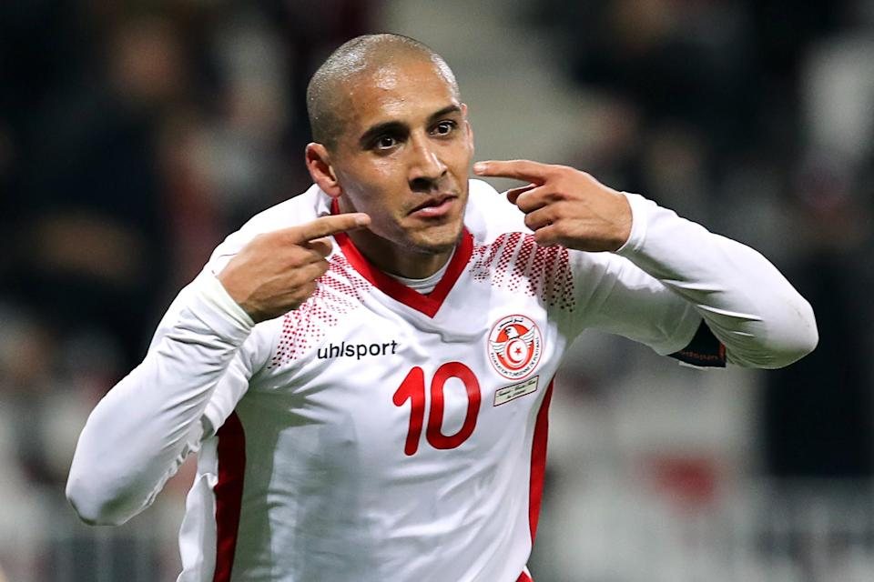 Wahbi Khazri will take on an oversize creative load for Tunisia at the 2018 World Cup. (Getty)