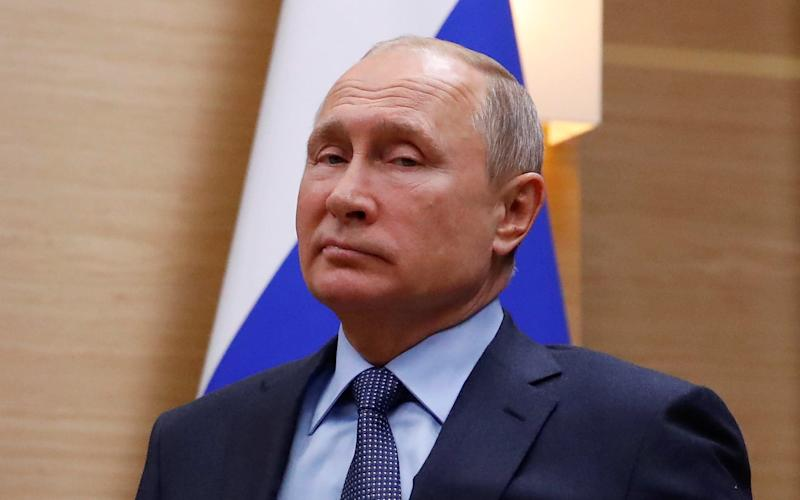Russian President Vladimir Putin claimed the US had already decided to ditch the treaty - REUTERS