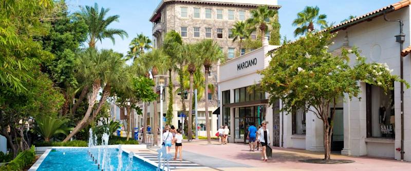 The Lincoln Road Shopping Mall, Miami Beach