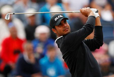 FILE PHOTO - Golf - The 147th Open Championship - Carnoustie, Britain - July 21, 2018 India's Shubhankar Sharma in action during the third round REUTERS/Jason Cairnduff