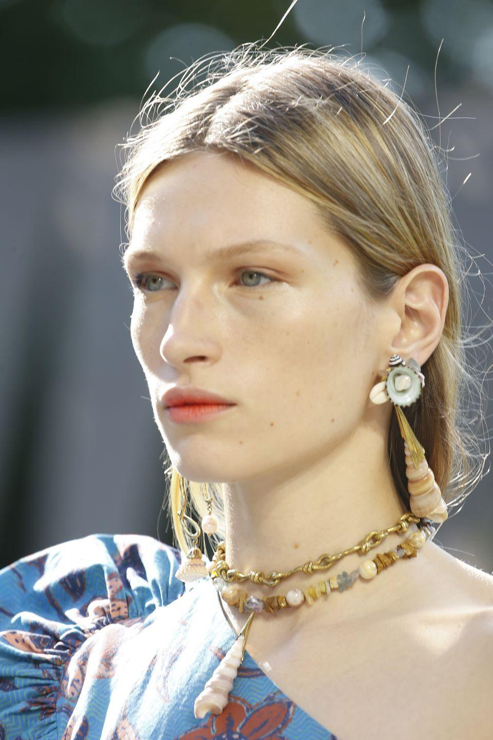 <p>These gorge pieces look like you picked them up straight from the beach. </p><p><em>Ulla Johnson</em></p>