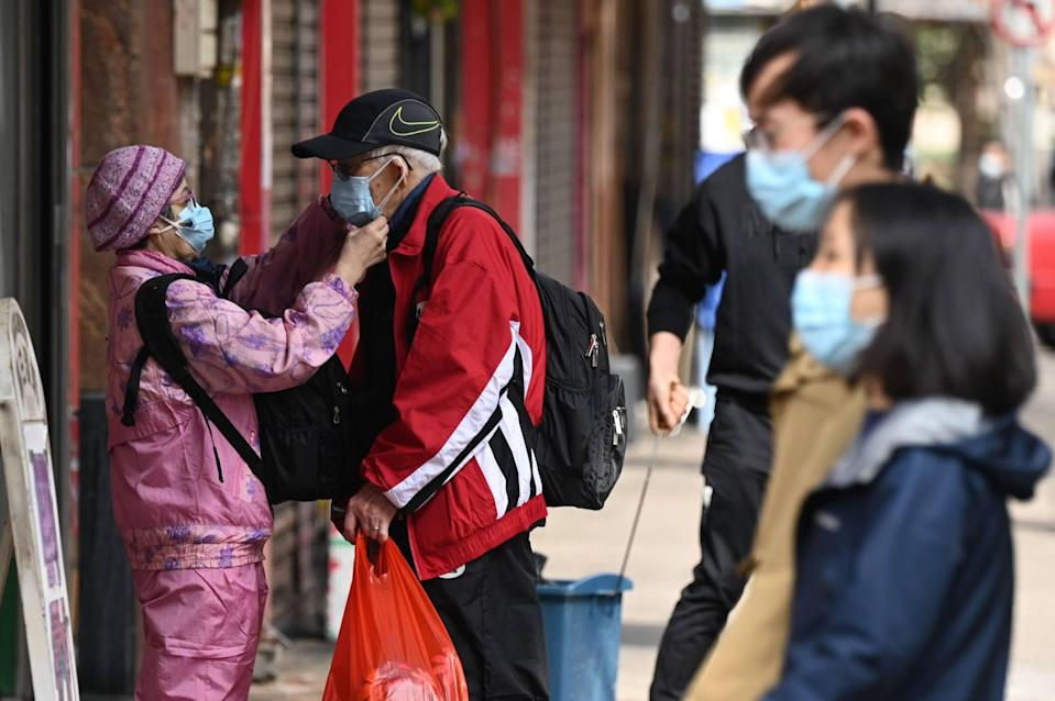 Local Covid-19 infections have been easing since late March. Photo: AFP