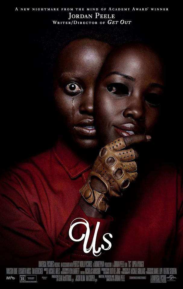 """<p>A family's vacation turns upside down when a group of </p><p>doppelgänger suddenly attacks them with mysterious motives.</p><p><a class=""""body-btn-link"""" href=""""https://www.amazon.com/Us-Lupita-Nyongo/dp/B07PH318RQ?tag=syn-yahoo-20&ascsubtag=%5Bartid%7C10065.g.1558%5Bsrc%7Cyahoo-us"""" target=""""_blank"""">Watch</a></p><p></p>"""