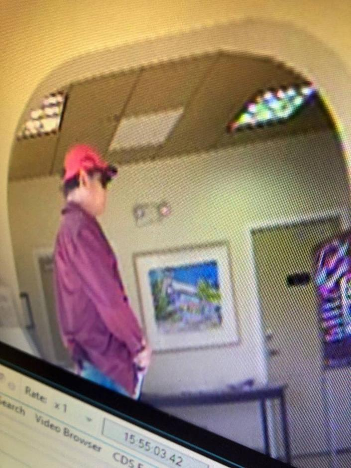 Key West man said this man robbed the Centennial Bank, 701 Whitehead St., on March 3, 2020.