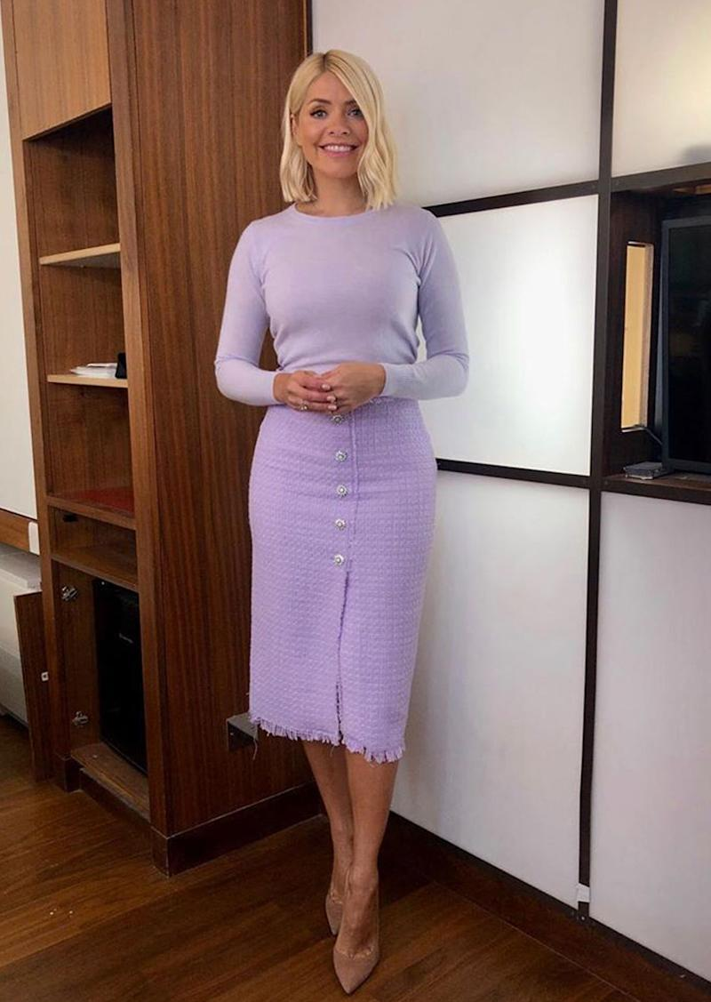 b7d9866d72fa Holly Willoughby Just Wore the Zara Trend That Is Dividing Opinion