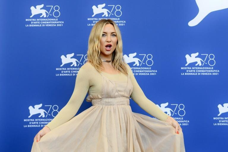 Hudson plays a tough-minded stripper in 'Mona Lisa and the Blood Moon'. (AFP/Filippo MONTEFORTE)