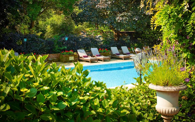 Chewton Glen - one of Britain's best hotels with outdoor pools