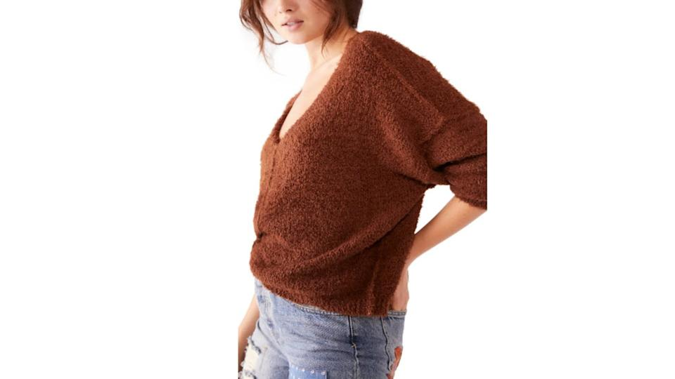 Free People Icing V-Neck Sweater - Nordstrom. $65 (originally $108)