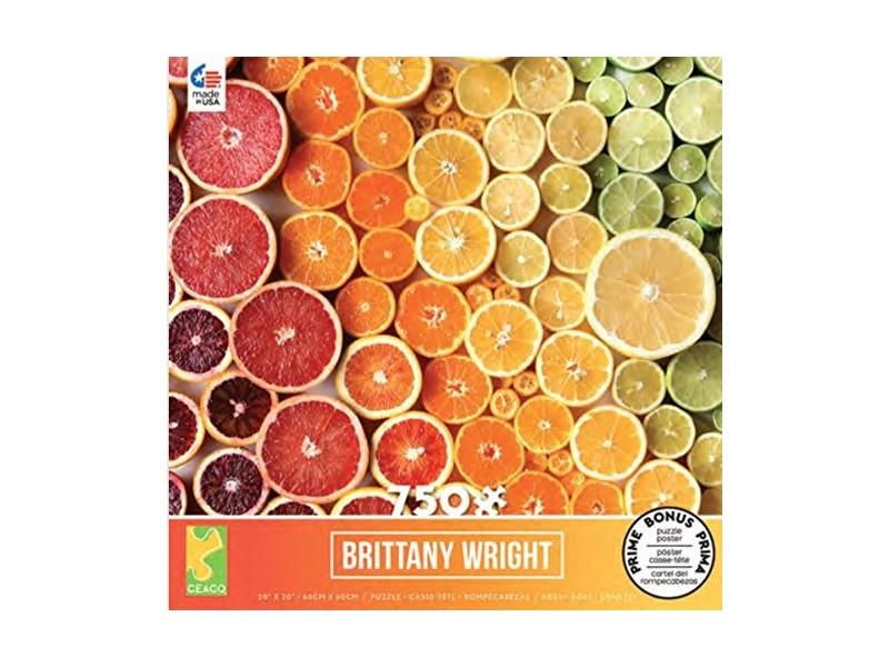 Ceaco Citrus Gradient by Brittany Wright 750-Piece Jigsaw Puzzle. (Photo: Amazon)