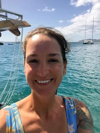 Sarm Heslop disappeared from a yacht moored at St John in the Virgin Islands. Source: United States Virgin Islands Police