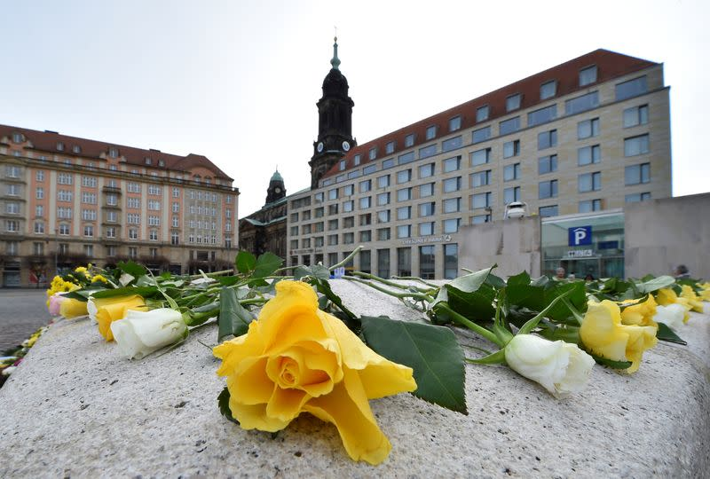 75th anniversary of the WW2 Dresden bombings