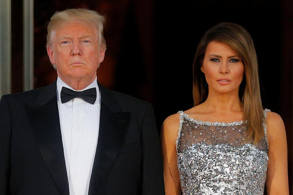 <em>Popular – Melania Trump is more popular than her husband Donald, according to YouGov (Picture: Reuters)</em>