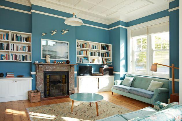 Bolder, brighter colors can be a risky choice in a seller's market, but, on the flip side, you don't have to paint everything stark white and gray. (Photo: Klaus Vedfelt via Getty Images)