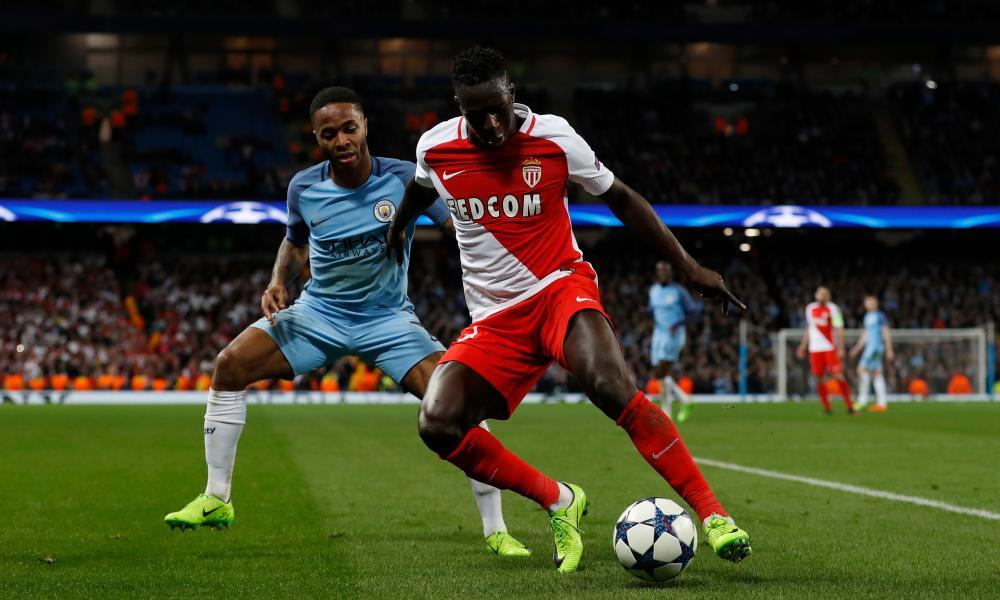 Benjamin Mendy, right, was part of the Monaco team that outclassed Manchester City in the last 16 of the Champions League this season.