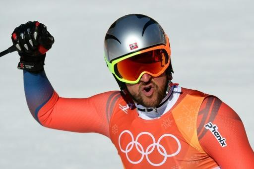 <p>Norway's Svindal wins Olympic men's downhill</p>