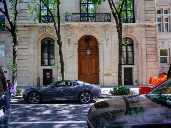 Jeffrey Epstein's Manhattan mansion is on sale for $88m (Getty Images)