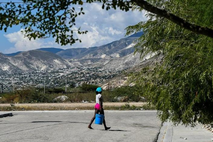 The Village Lumane Casimir was meant to help dozens of people who were crippled in the January 2010 earthquake; instead the village was half-finished and abandoned, leaving residents to feld for themselves without aid (AFP Photo/CHANDAN KHANNA)