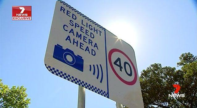 Across NSW, cameras earned well over $185 million last year. Source: 7 News