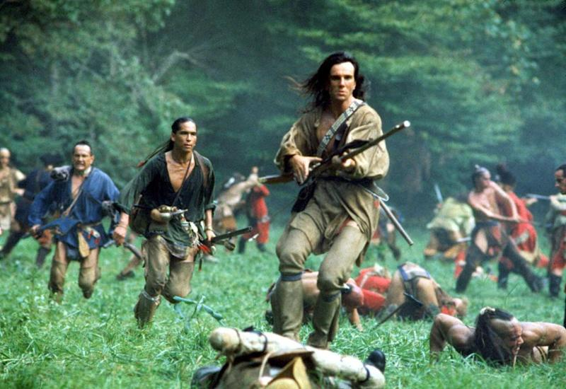 Daniel Day-Lewis in Last of the Mohicans