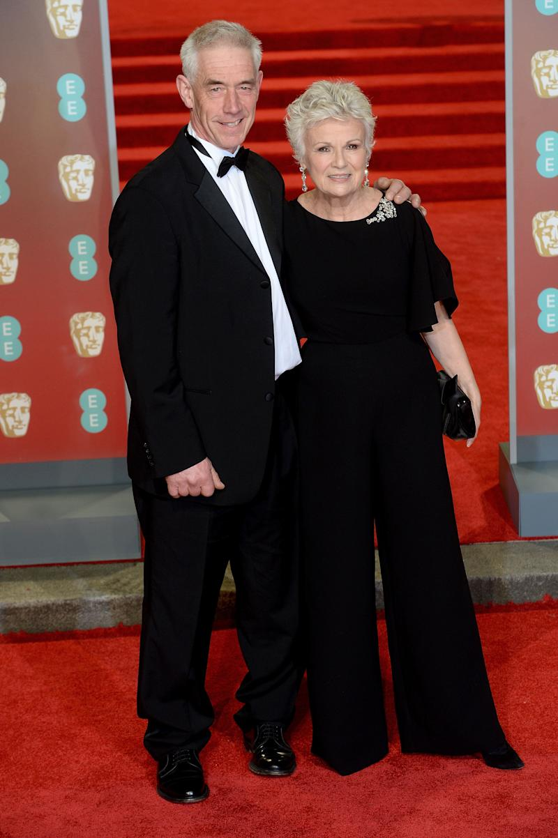 Dame Julie with her husband, Grant Roffey (Photo: Dave J Hogan via Getty Images)