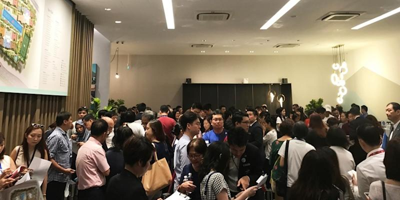 <p><img/></p>Le Quest, a mixed-use development by Qingjian Realty in Bukit Batok, saw 70 units sold during the first day of Phase 2 sales...