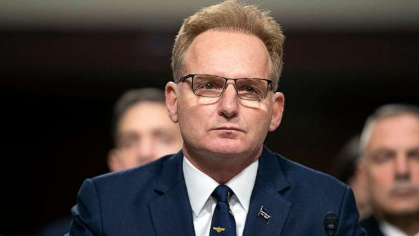 PHOTO: Acting Navy Secretary Thomas Modly testifies during a hearing of the Senate Armed Services Committee in Washington, D.C., Dec. 3, 2019. (Alex Brandon/AP, FILE)