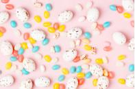 """<p>Every child knows that no Easter egg hunt is complete without candy. Exchanging chocolates and other sweets during Easter gained popularity in Europe during the mid-19th century, as companies developed methods for mass producing sweets and unveiled confections in fancy holiday shapes and packages, like Cadbury eggs.</p><p>Jelly beans likely evolved from early fruit jellies such as Turkish Delight, a Middle Eastern delicacy. They entered the U.S. market sometime in the late-19th century, but didn't gain their Easter association until the 1930s, according to the <a href=""""https://app.ckbk.com/reference/food34962c10s001e010/jelly-beans"""" rel=""""nofollow noopener"""" target=""""_blank"""" data-ylk=""""slk:Oxford Encyclopedia of Food and Drink in America"""" class=""""link rapid-noclick-resp"""">Oxford Encyclopedia of Food and Drink in America</a>. <strong><br></strong></p><p><strong>RELATED:</strong> <a href=""""https://www.goodhousekeeping.com/holidays/easter-ideas/g2367/easter-candies/"""" rel=""""nofollow noopener"""" target=""""_blank"""" data-ylk=""""slk:The Very Best Easter Candy You Can Buy"""" class=""""link rapid-noclick-resp"""">The Very Best Easter Candy You Can Buy </a></p>"""