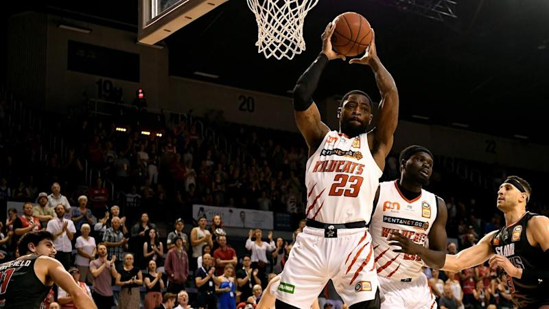 Terrico White has been instrumental in Perth's 22-point NBL win over Illawarra in Wollongong