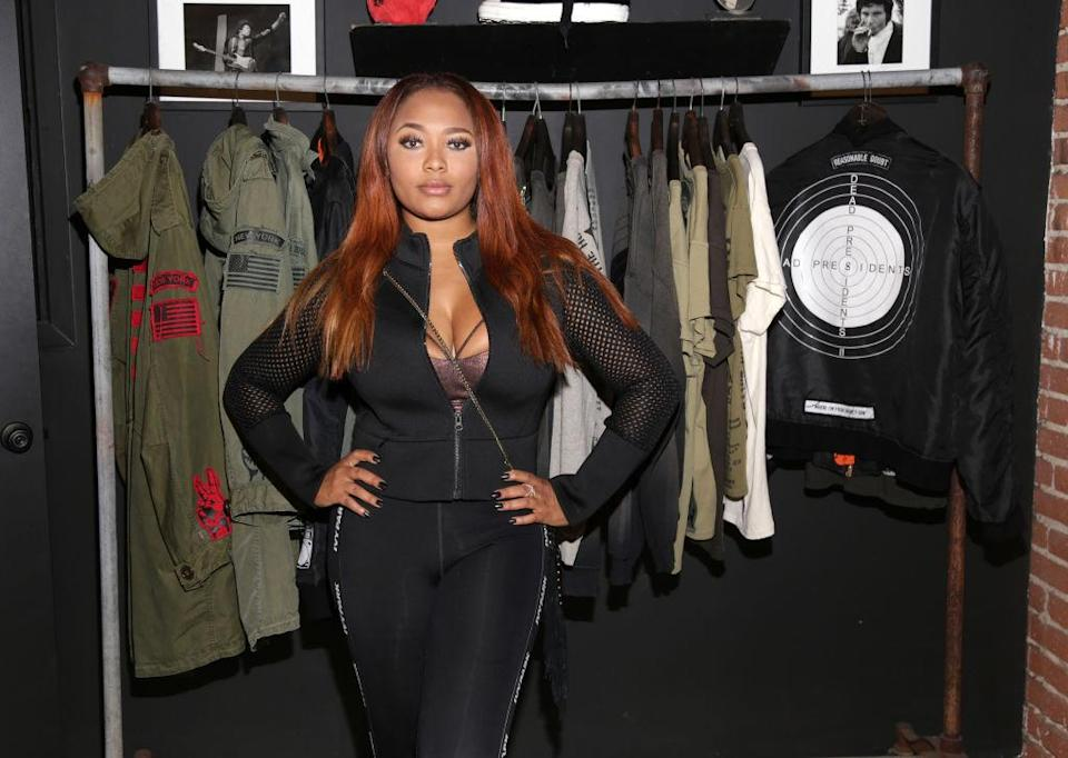 Teairra Mari, pictured on May 4, 2017, says she's a victim of revenge porn. (Photo: Jerritt Clark/Getty Images for Roc96 x Madeworn)