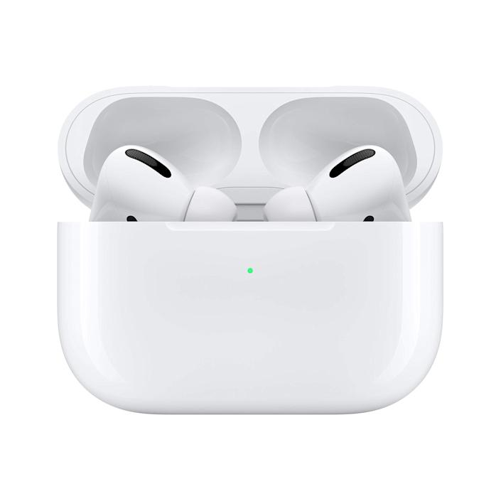 """<h3><h2>Apple AirPod Pro</h2></h3><br>This devoted headphone user deserves an upgrade this year, and he'll really appreciate the sleek designer and supreme sound quality of the """"Pro"""" AirPods.<br><br><em>Shop Apple at <strong><a href=""""https://amzn.to/2Rj2Ncg"""" rel=""""nofollow noopener"""" target=""""_blank"""" data-ylk=""""slk:Amazon"""" class=""""link rapid-noclick-resp"""">Amazon</a></strong></em><br><br><strong>Apple</strong> AirPods Pro, $, available at <a href=""""https://amzn.to/31VRbxY"""" rel=""""nofollow noopener"""" target=""""_blank"""" data-ylk=""""slk:Amazon"""" class=""""link rapid-noclick-resp"""">Amazon</a>"""