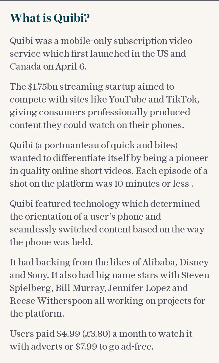 What is Quibi?