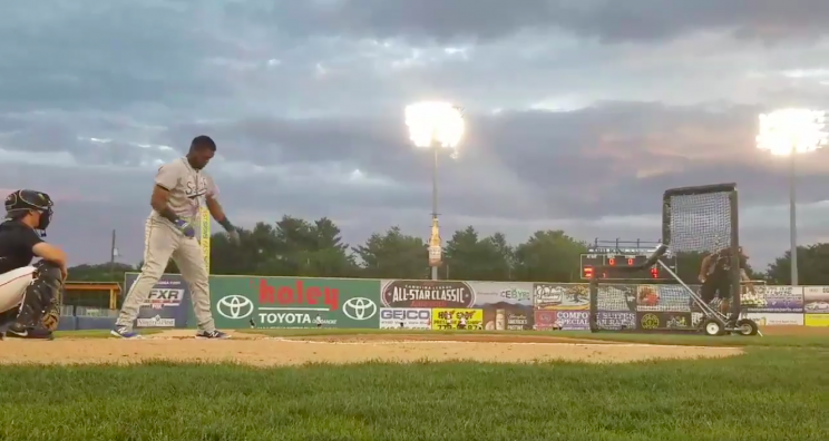 Cubs prospect makes like Roy Hobbs, smashes light with towering home run