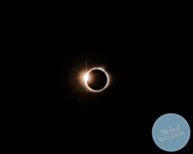 This couple had an eclipse engagement session. (Charis and Kyle Rowland / The Rowlands Photography and Filmmaking)
