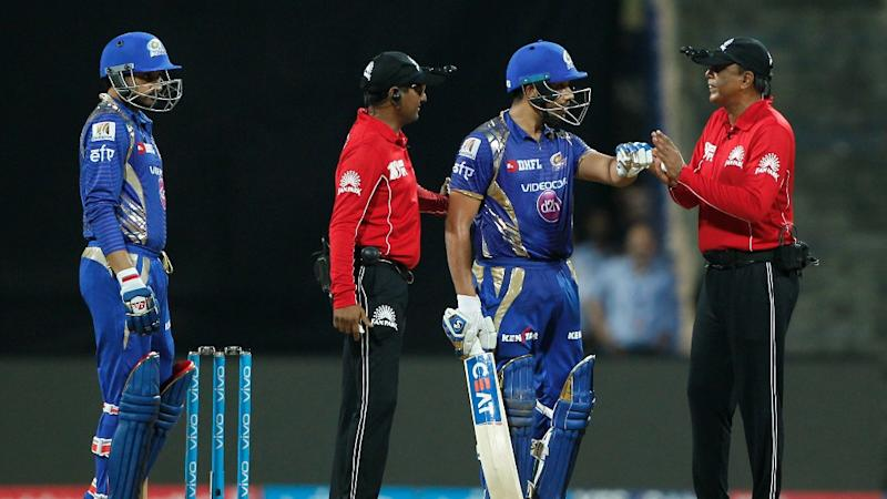 IPL: Rohit Sharma Fined for Protesting Umpire's Decision