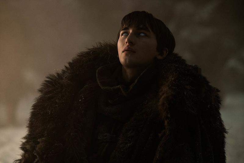 Bran Stark wargs out in 'The Long Night' episode of 'Game of Thrones' (Photo: Helen Sloan/HBO)