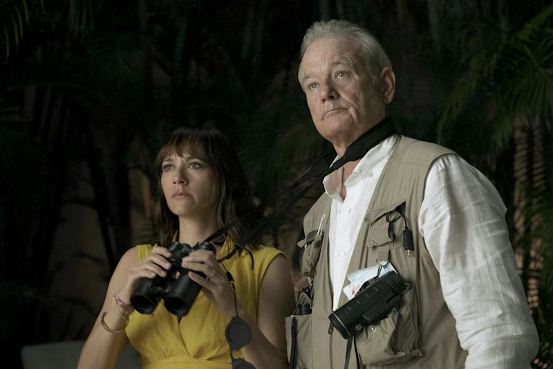 """A young mother (Rashida Jones) teams up with her playboy father (Bill Murray) to find out if her husband is cheating in the Sofia Coppola comedy adventure """"On the Rocks."""""""