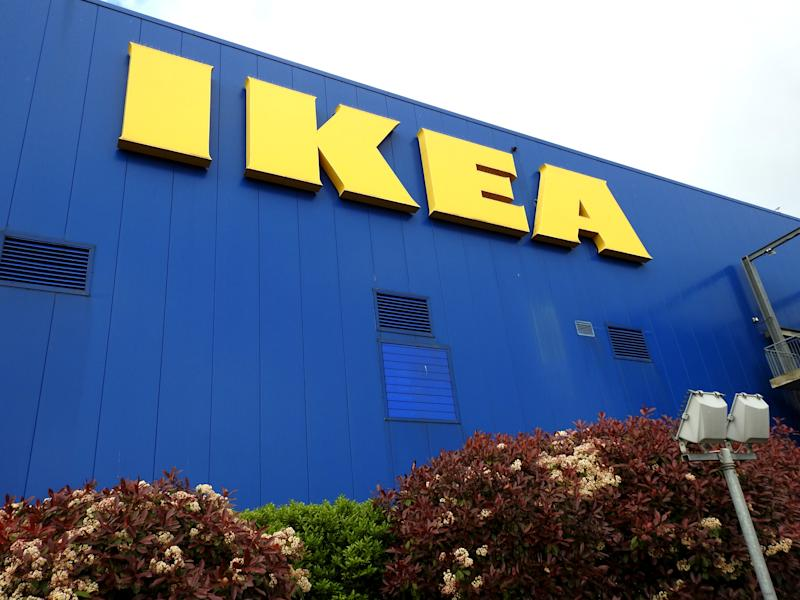 26th April 2019, Dublin, Ireland. IKEA store in Ballymun, Dublin, a Swedish-founded multinational group that designs and sells ready-to-assemble furniture, kitchen appliances and home accessories.