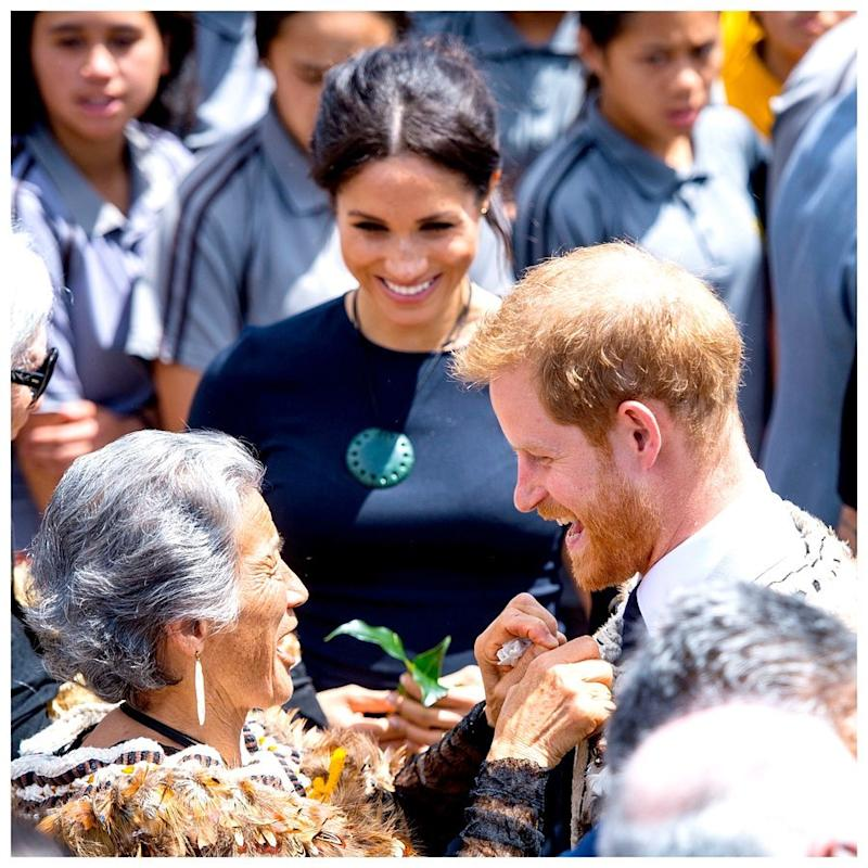 Meghan Markle and Prince Harry in New Zealand 2018 | Sussex Royal/instagram