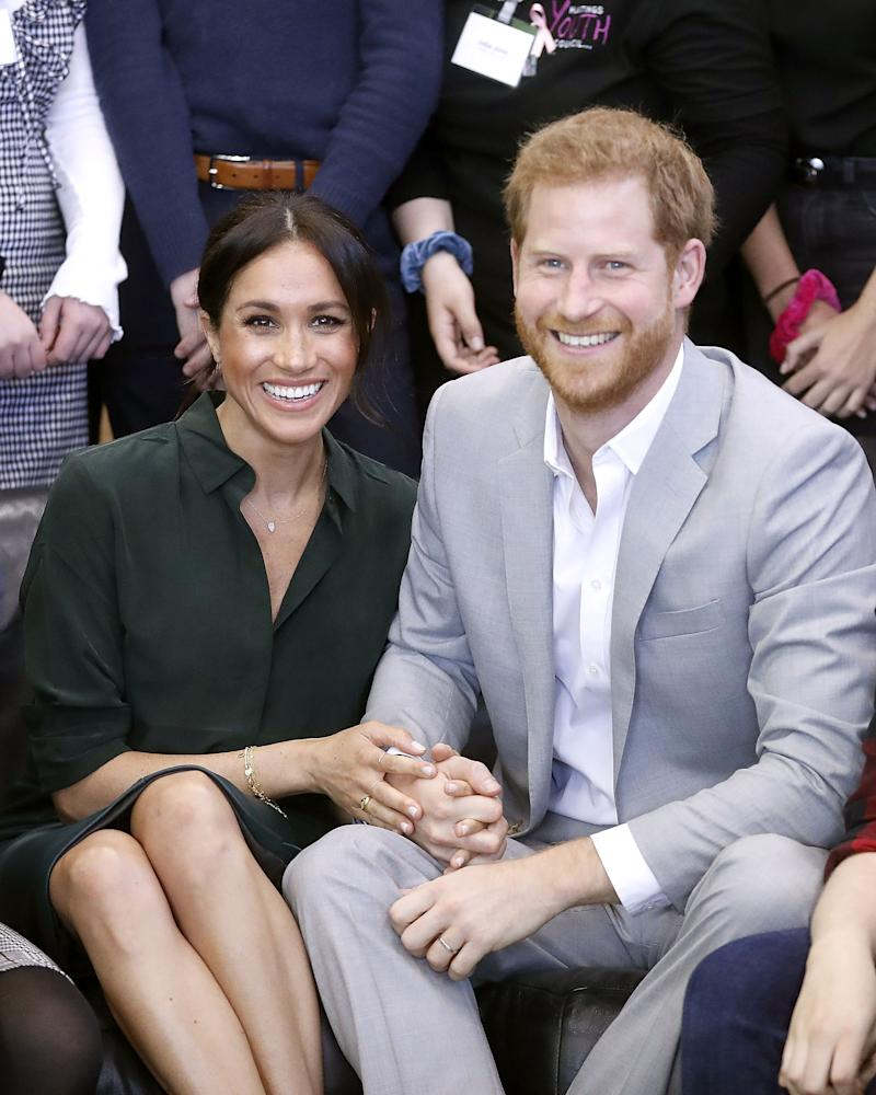Harry, Meghan receive first baby gifts