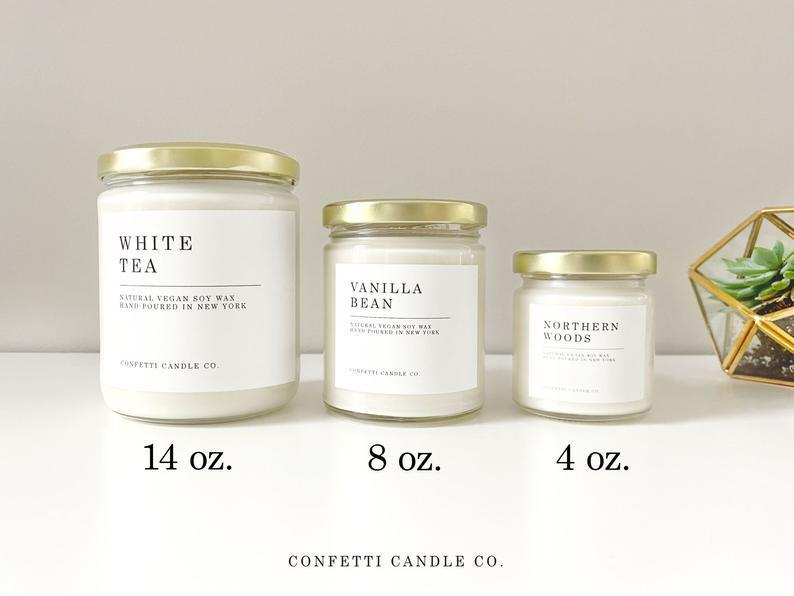 """<br><br><strong>ConfettiCandleCo</strong> Hand-Poured Scented Candle, $, available at <a href=""""https://go.skimresources.com/?id=30283X879131&url=https%3A%2F%2Fwww.etsy.com%2Flisting%2F789001873%2Focean-candle-vegan-soy-natural-soy-wax%3Fgpla%3D1%26gao%3D1%26"""" rel=""""nofollow noopener"""" target=""""_blank"""" data-ylk=""""slk:Etsy"""" class=""""link rapid-noclick-resp"""">Etsy</a>"""