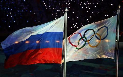<span>Russian athletes could compete on a neutral basis at the next Olympics</span> <span>Credit: EPA </span>