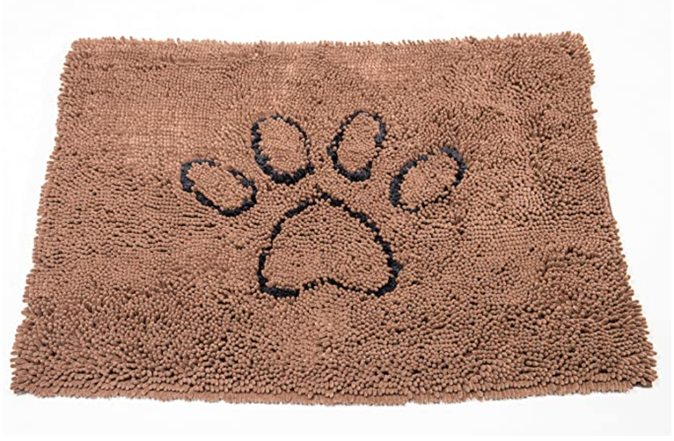 Dog Gone Smart doormat  to clean dirty dog paws